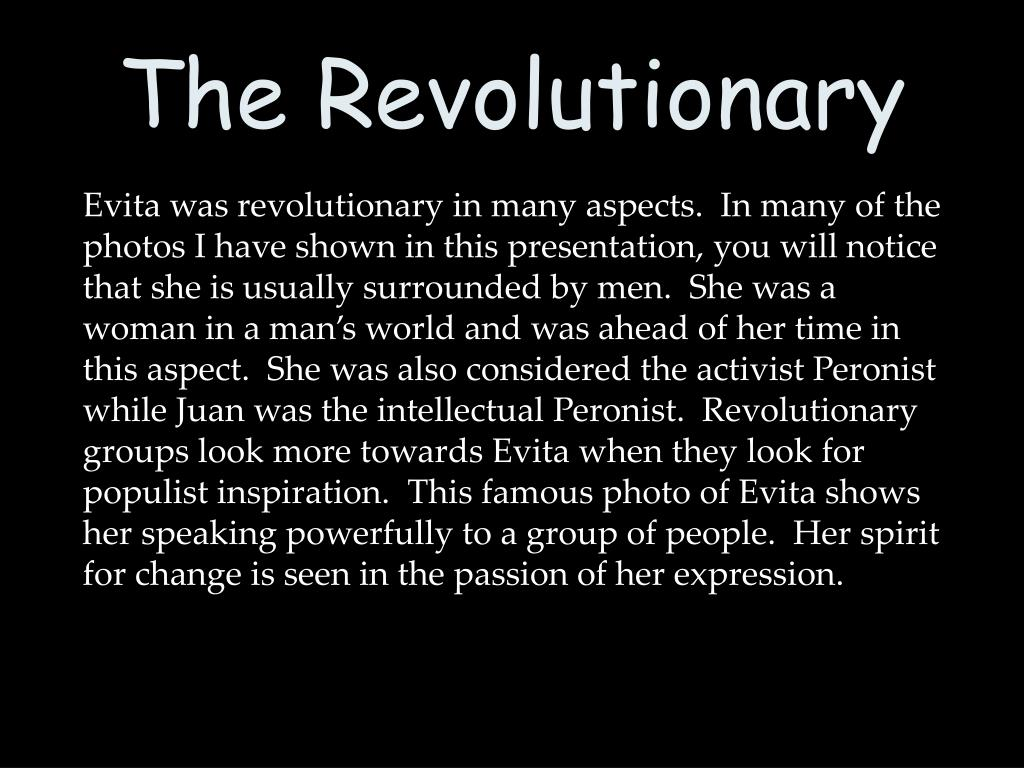 The Revolutionary