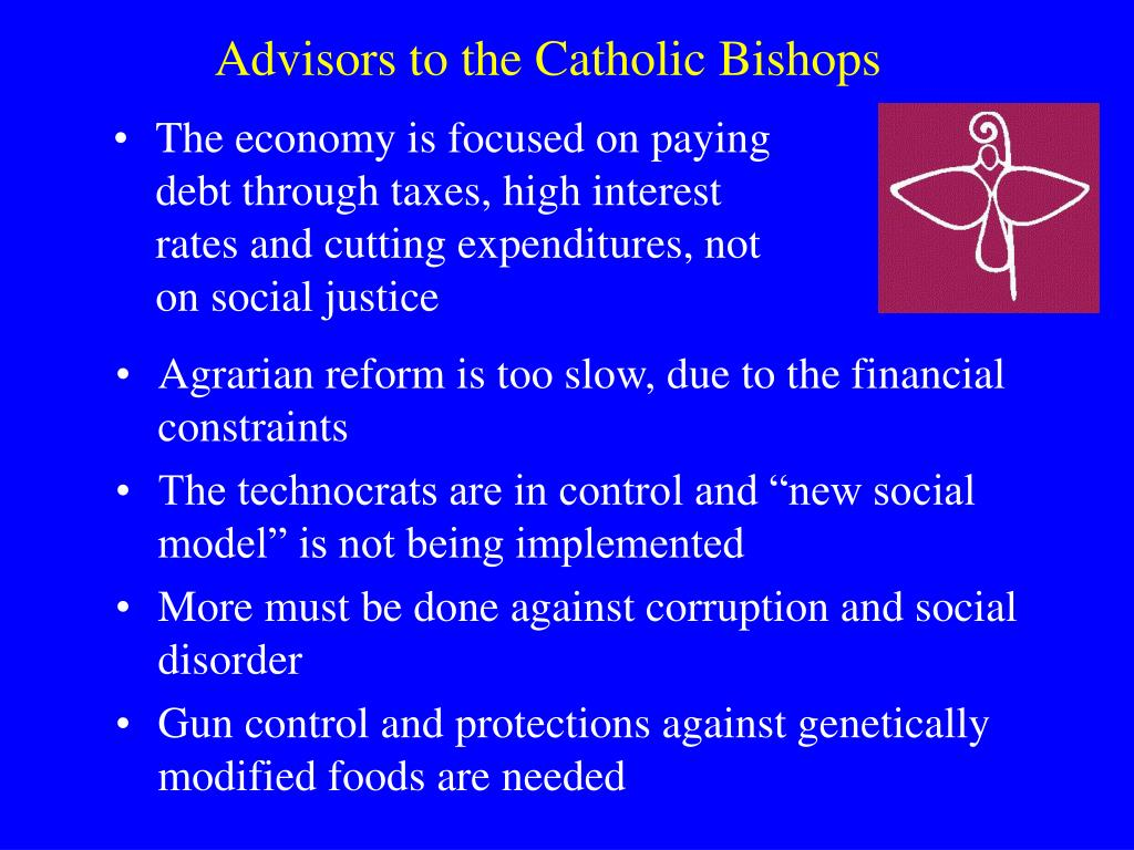Advisors to the Catholic Bishops