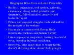 biographer brito alves on lula s personality