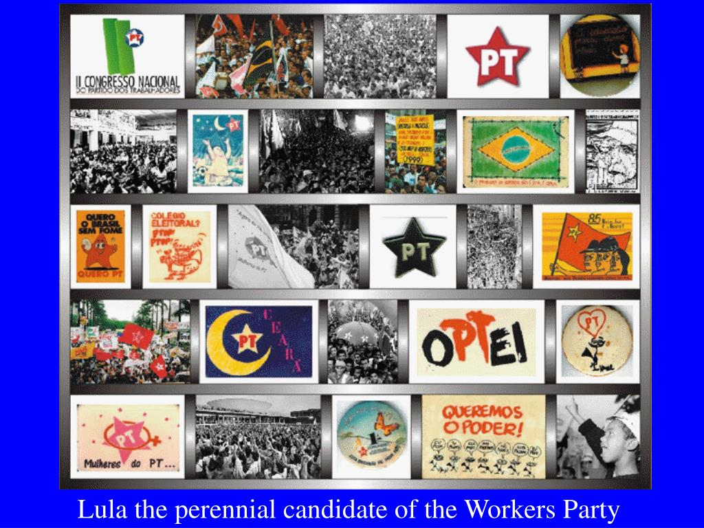 Lula the perennial candidate of the Workers Party