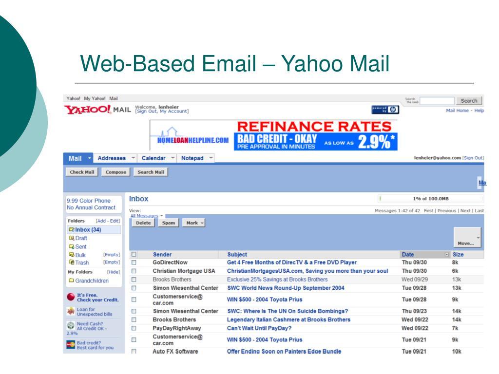 Web-Based Email – Yahoo Mail