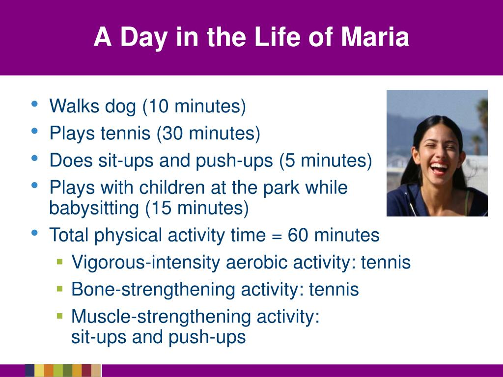 A Day in the Life of Maria