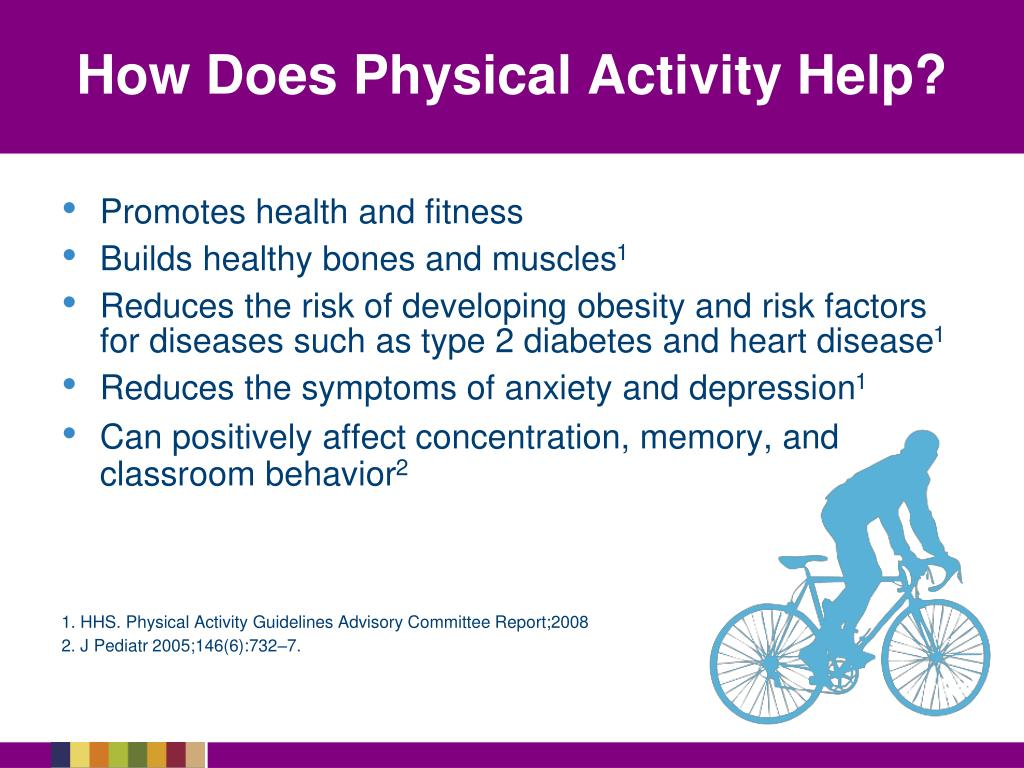 How Does Physical Activity Help?