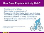 how does physical activity help
