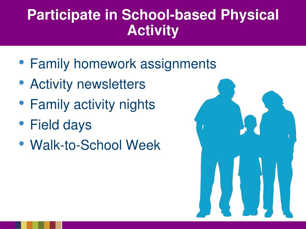 Participate in School-based Physical Activity