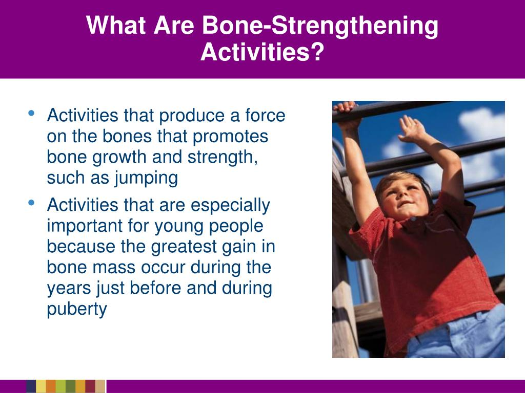 What Are Bone-Strengthening Activities?