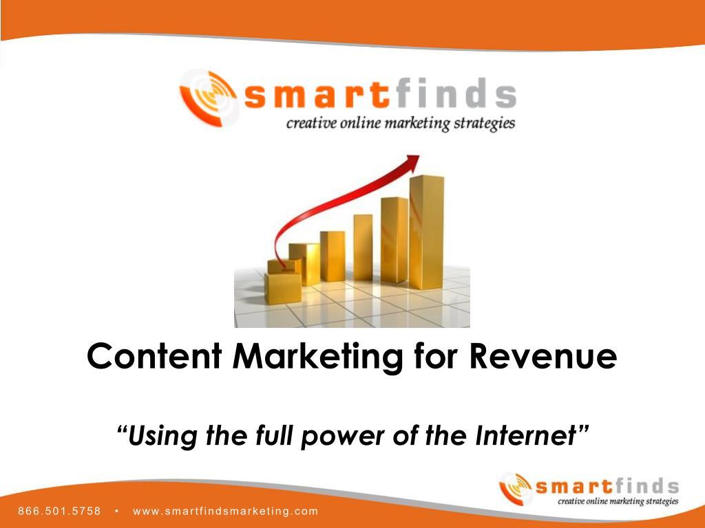 Content Marketing for Revenue