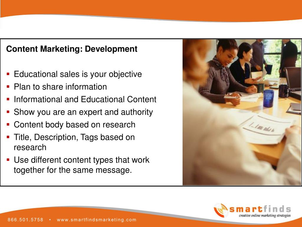 Content Marketing: Development
