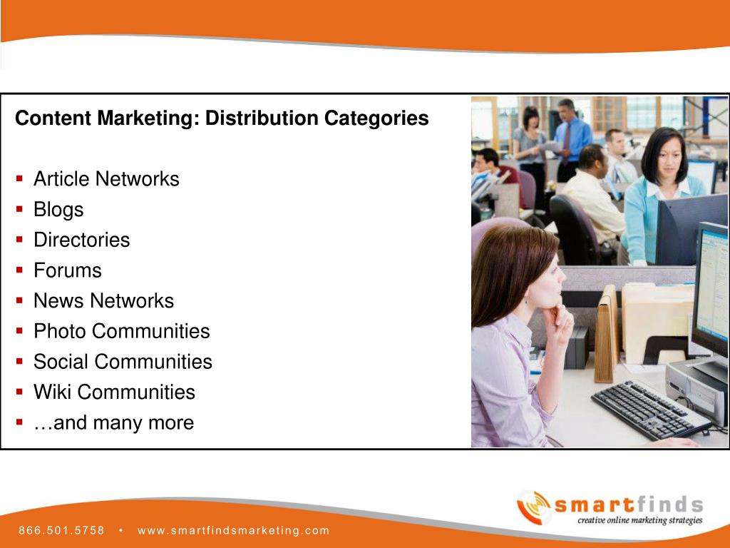 Content Marketing: Distribution Categories