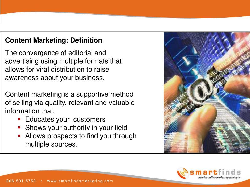 Content Marketing: Definition