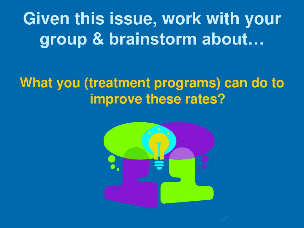 Given this issue, work with your group & brainstorm about…