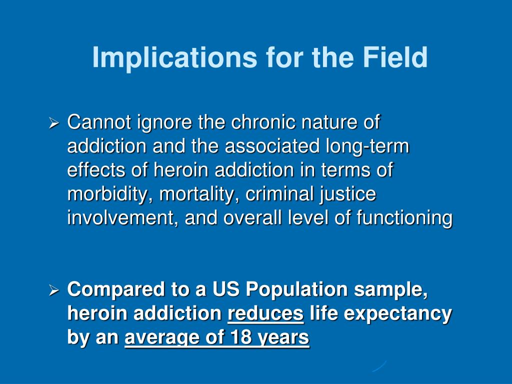 Implications for the Field