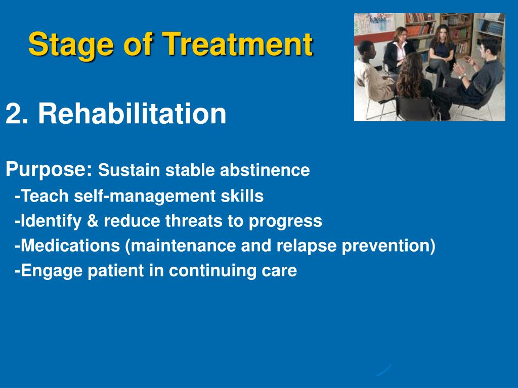 Stage of Treatment