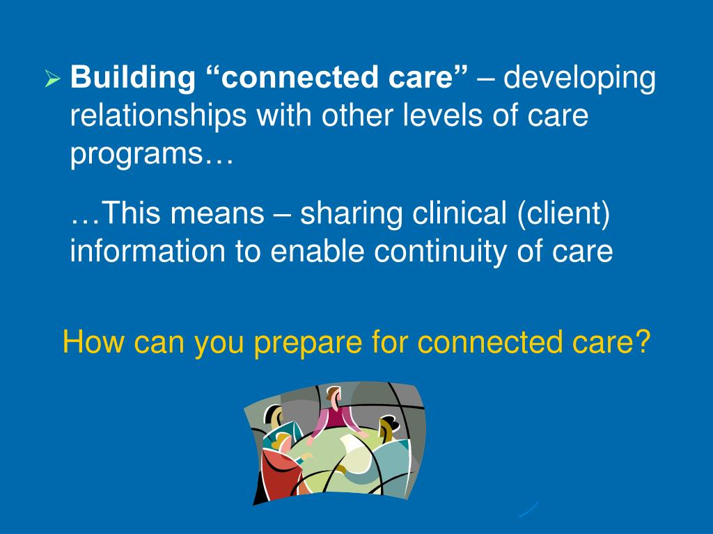 """Building """"connected care"""""""