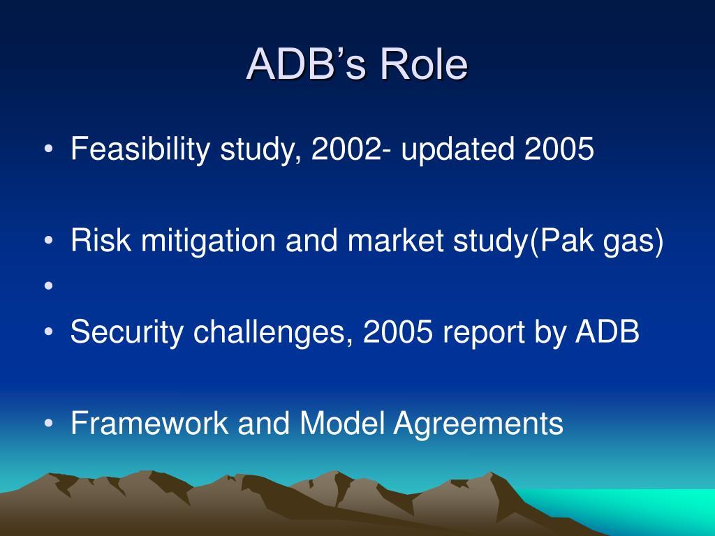 ADB's Role
