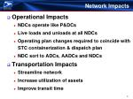 network impacts