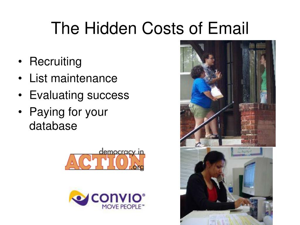The Hidden Costs of Email