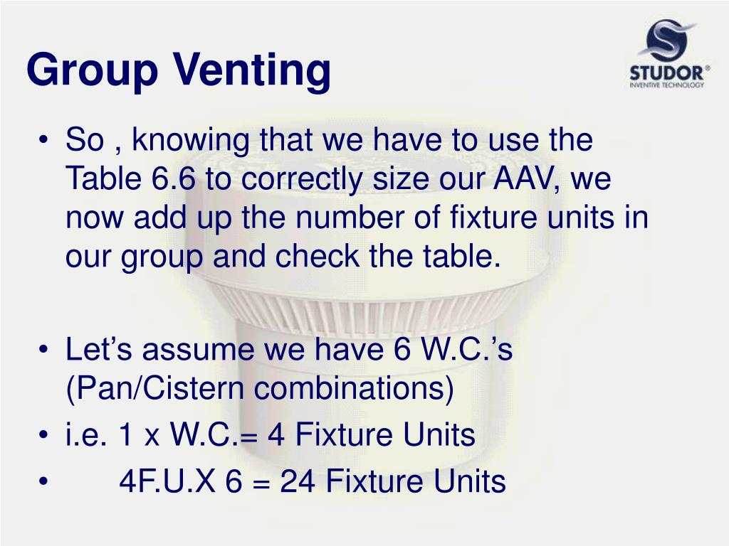 Group Venting