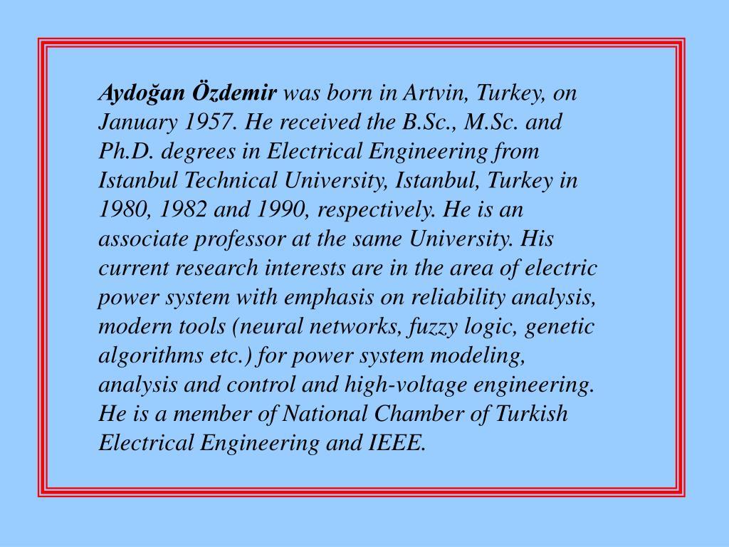 Aydoğan Özdemir