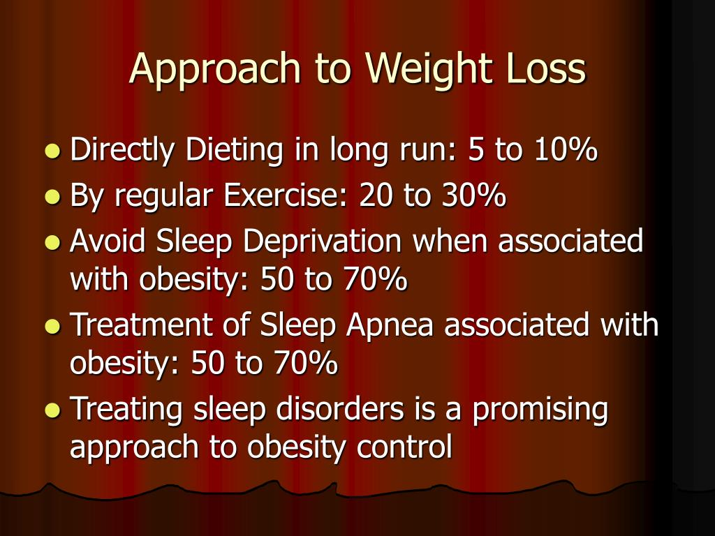 Approach to Weight Loss