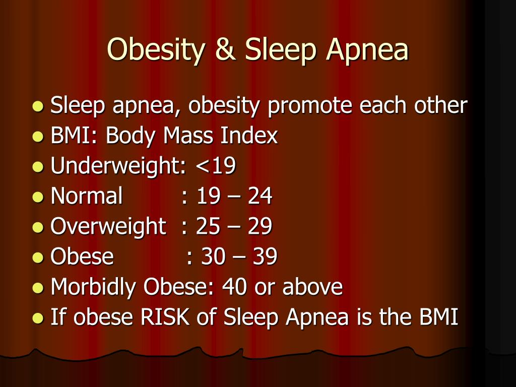 Obesity & Sleep Apnea