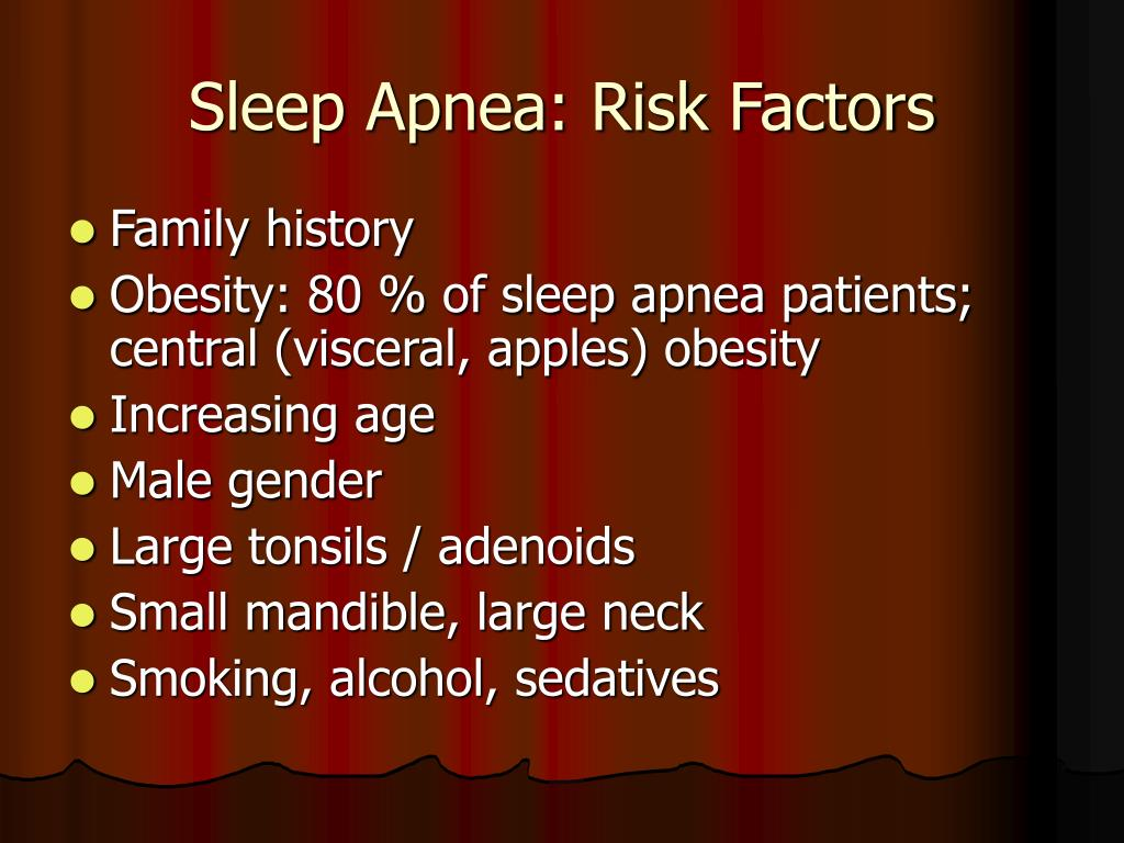 Sleep Apnea: Risk Factors