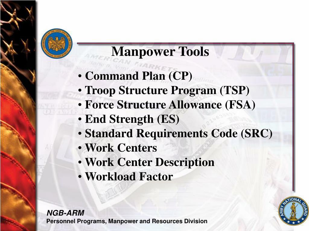 Manpower Tools
