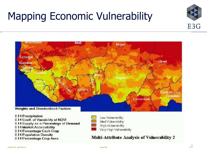 Mapping Economic Vulnerability