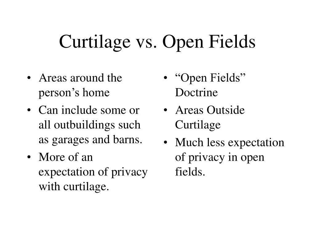 """""""Open Fields"""" Doctrine"""