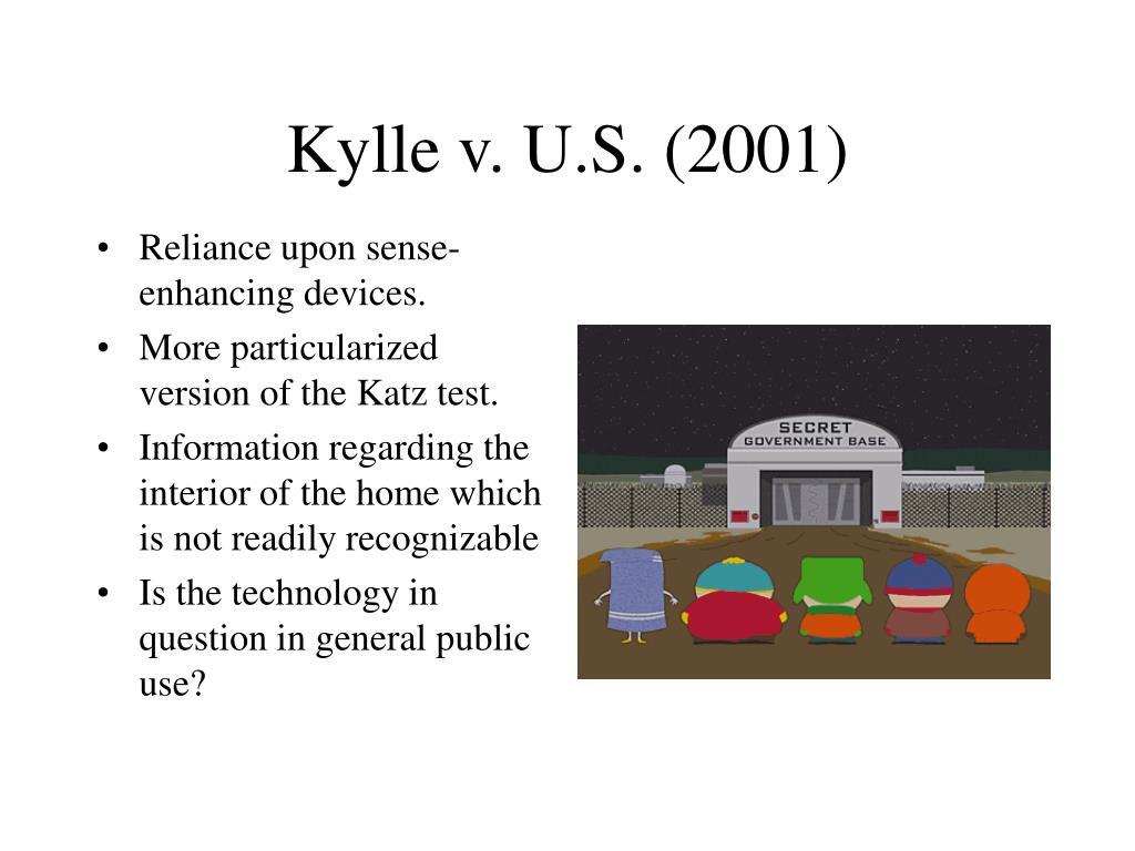 Kylle v. U.S. (2001)