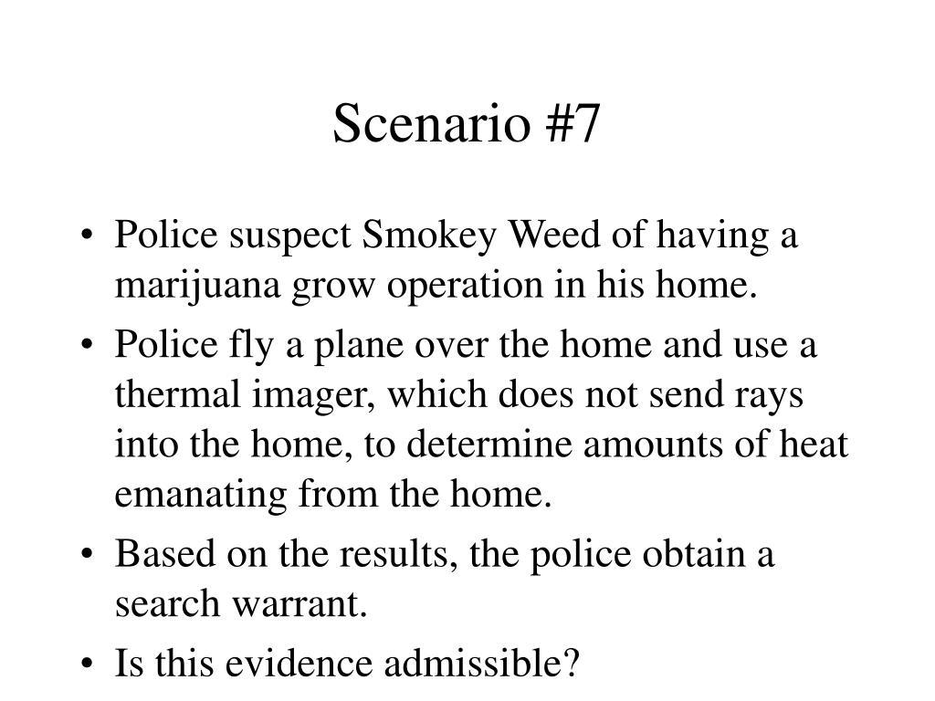 Scenario #7