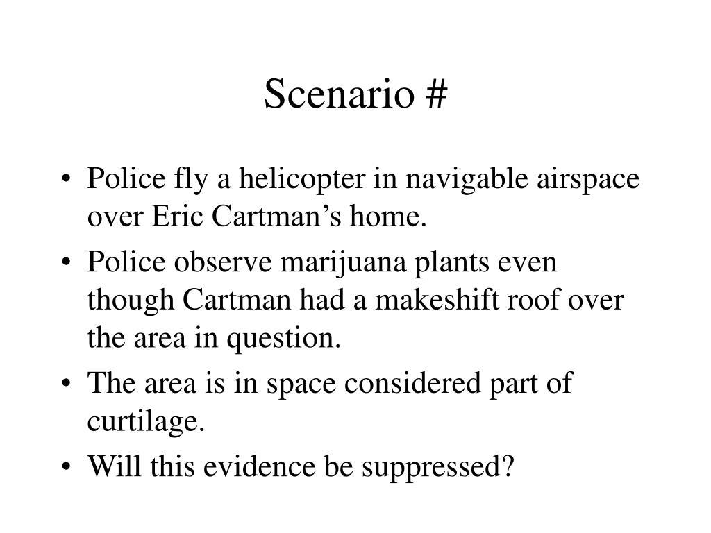 Scenario #