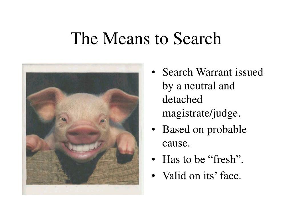The Means to Search