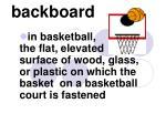backboard