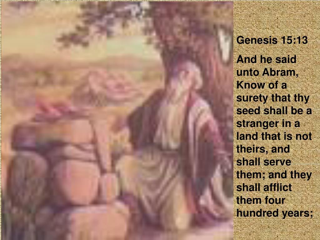 Genesis 15:13