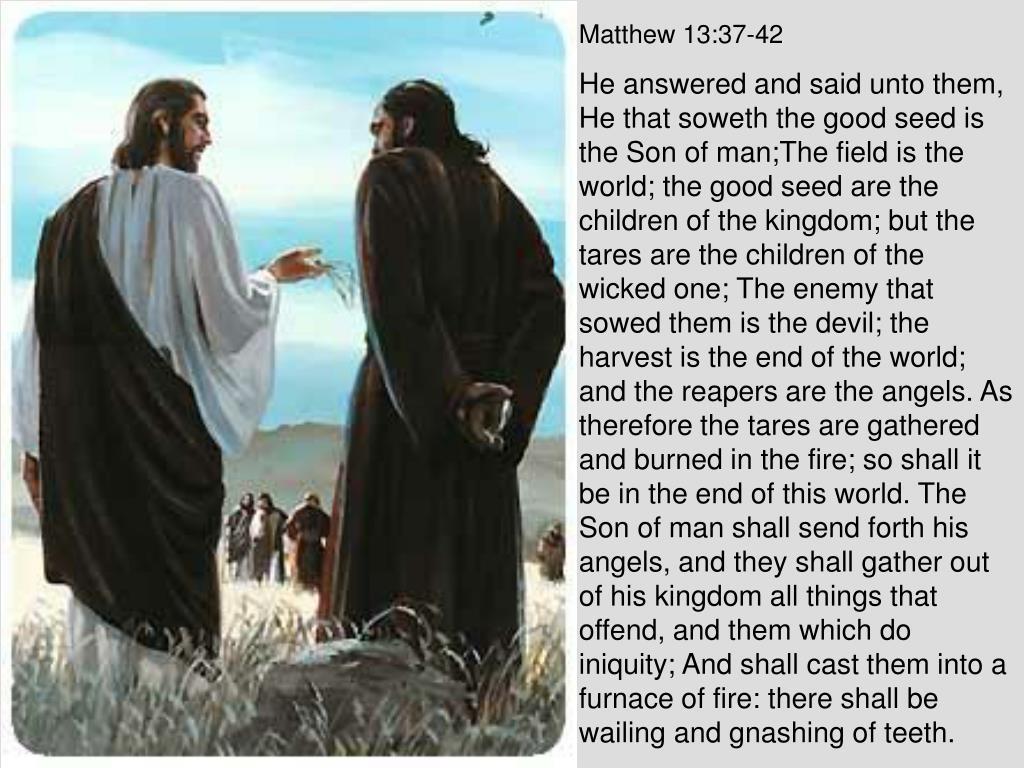 Matthew 13:37-42