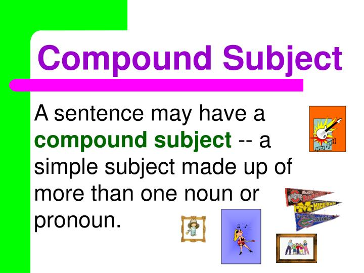 Compound Subject
