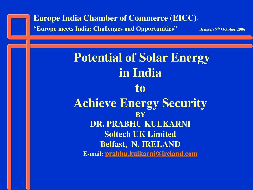 Europe India Chamber of Commerce (EICC)