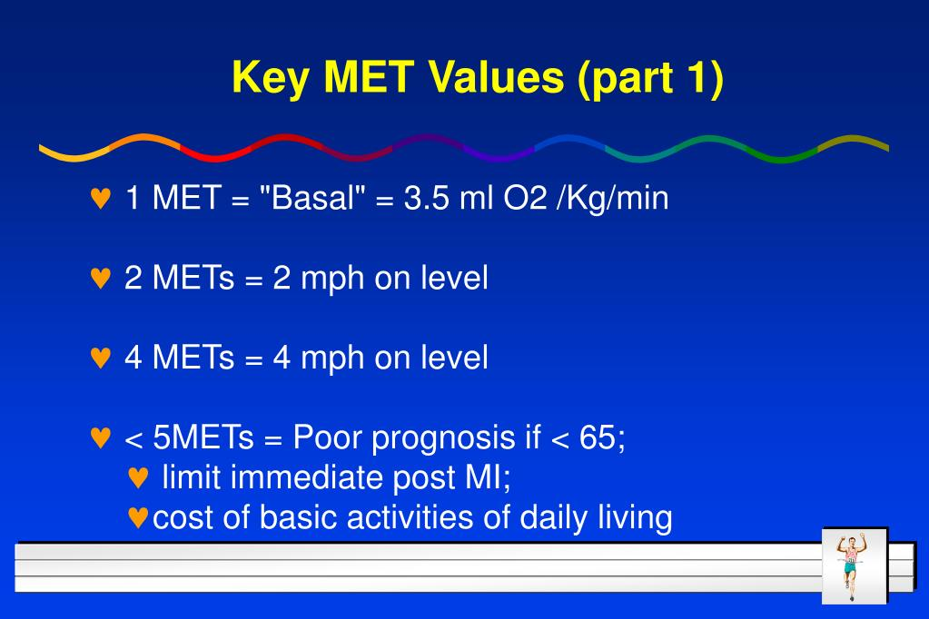 Key MET Values (part 1)