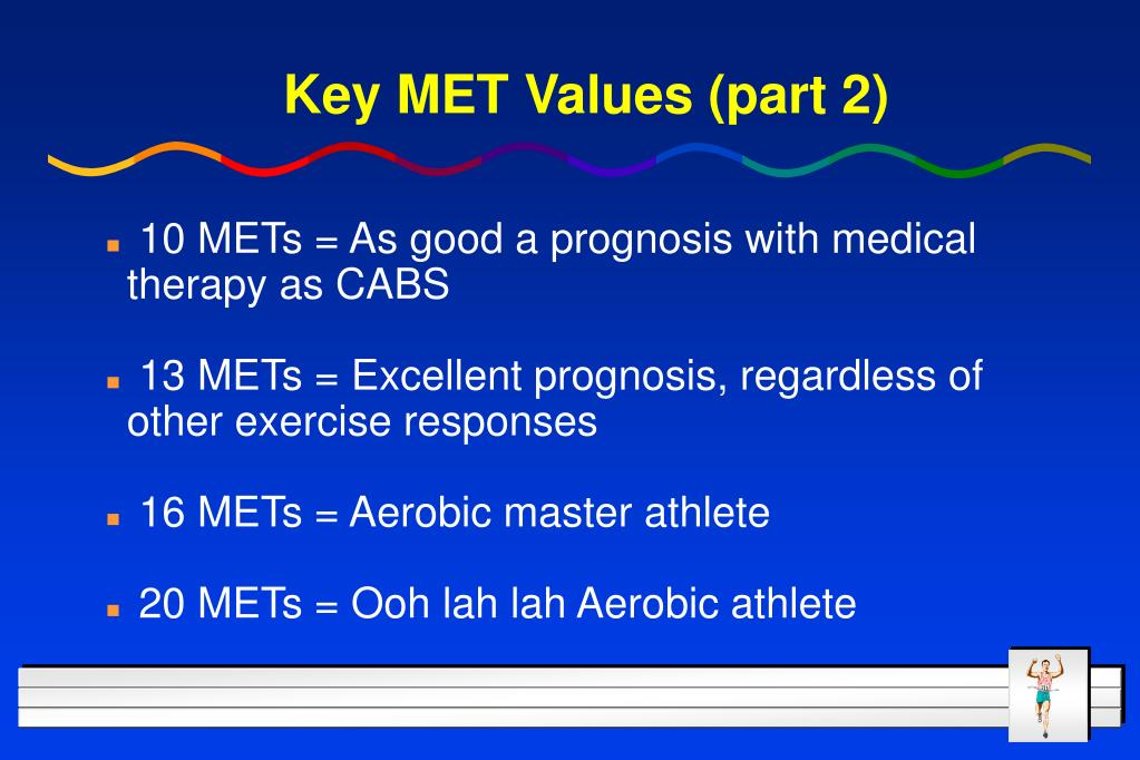 Key MET Values (part 2)