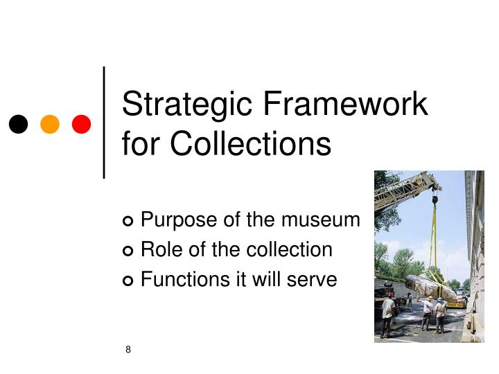 Strategic Framework for Collections