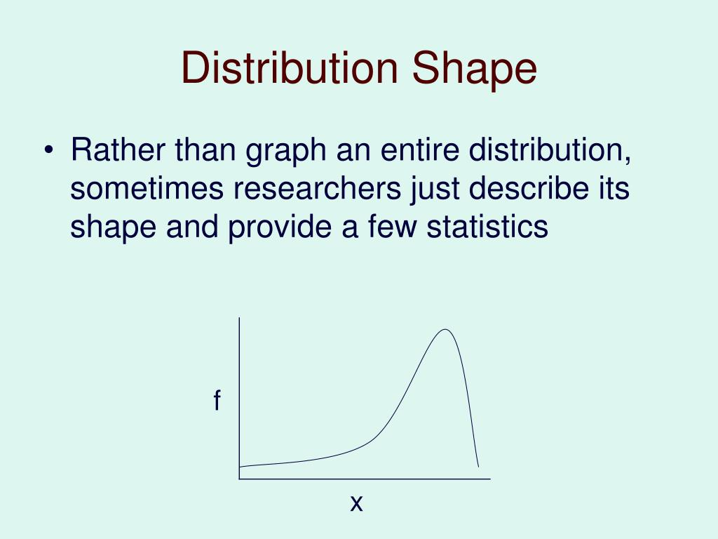 Distribution Shape