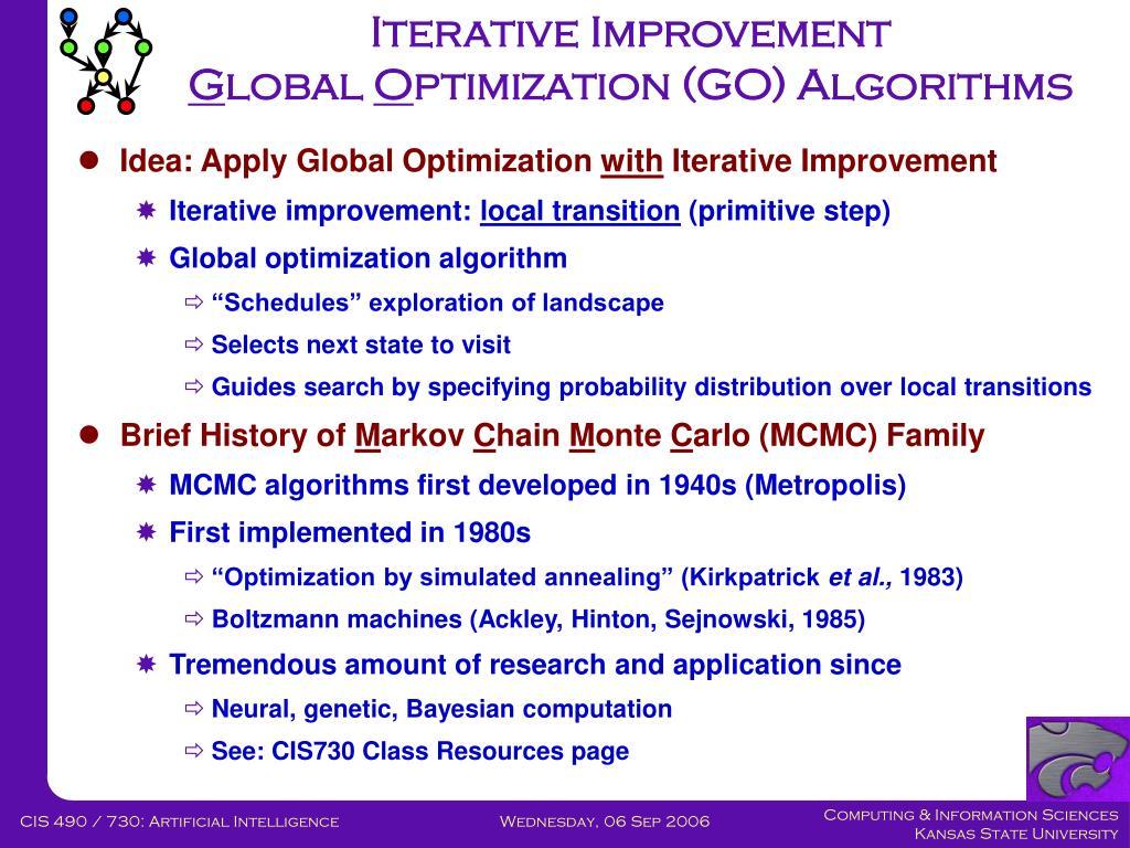 Iterative Improvement