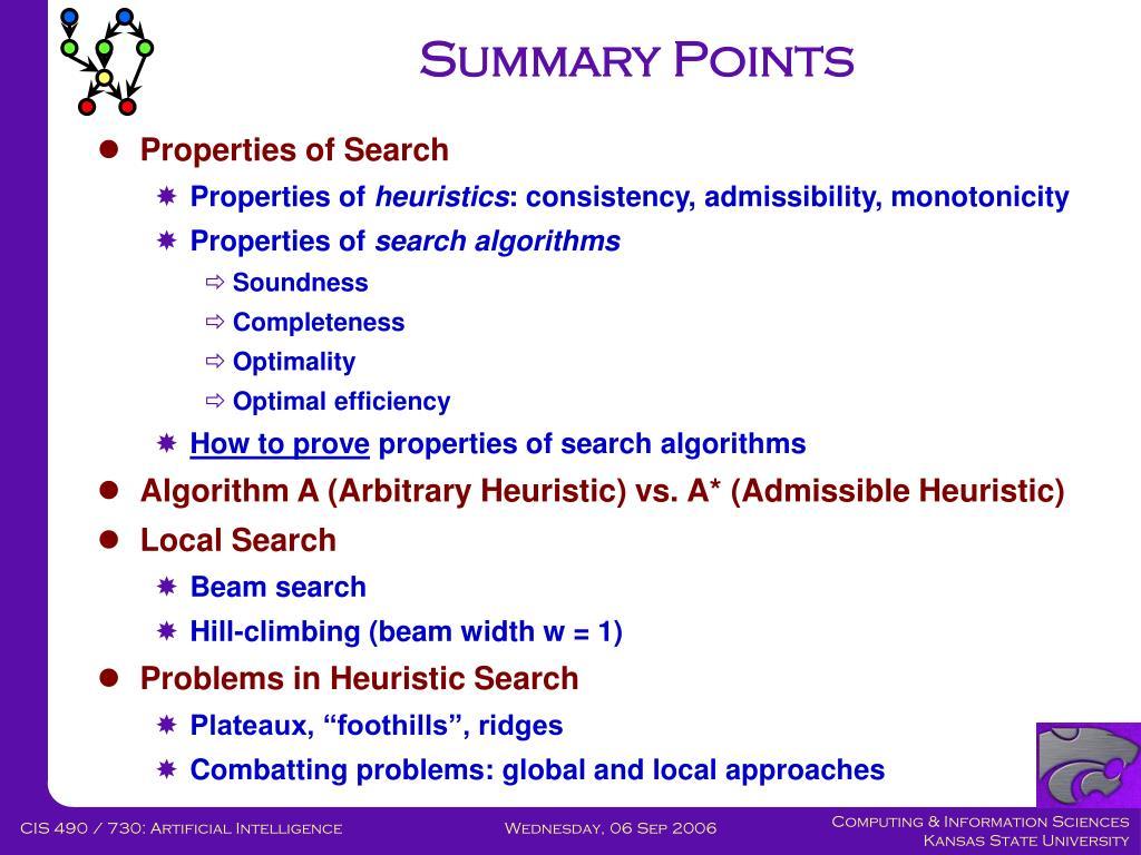Summary Points