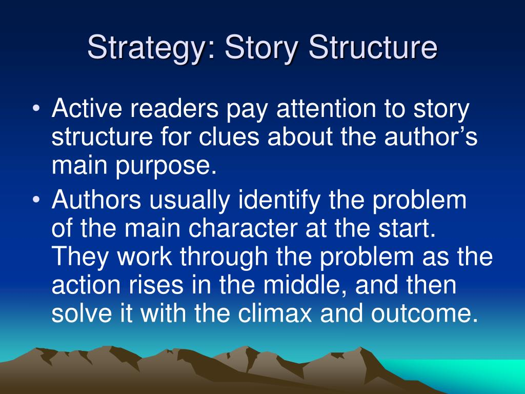 Strategy: Story Structure