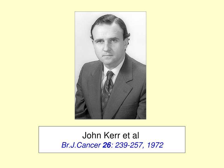John Kerr et al