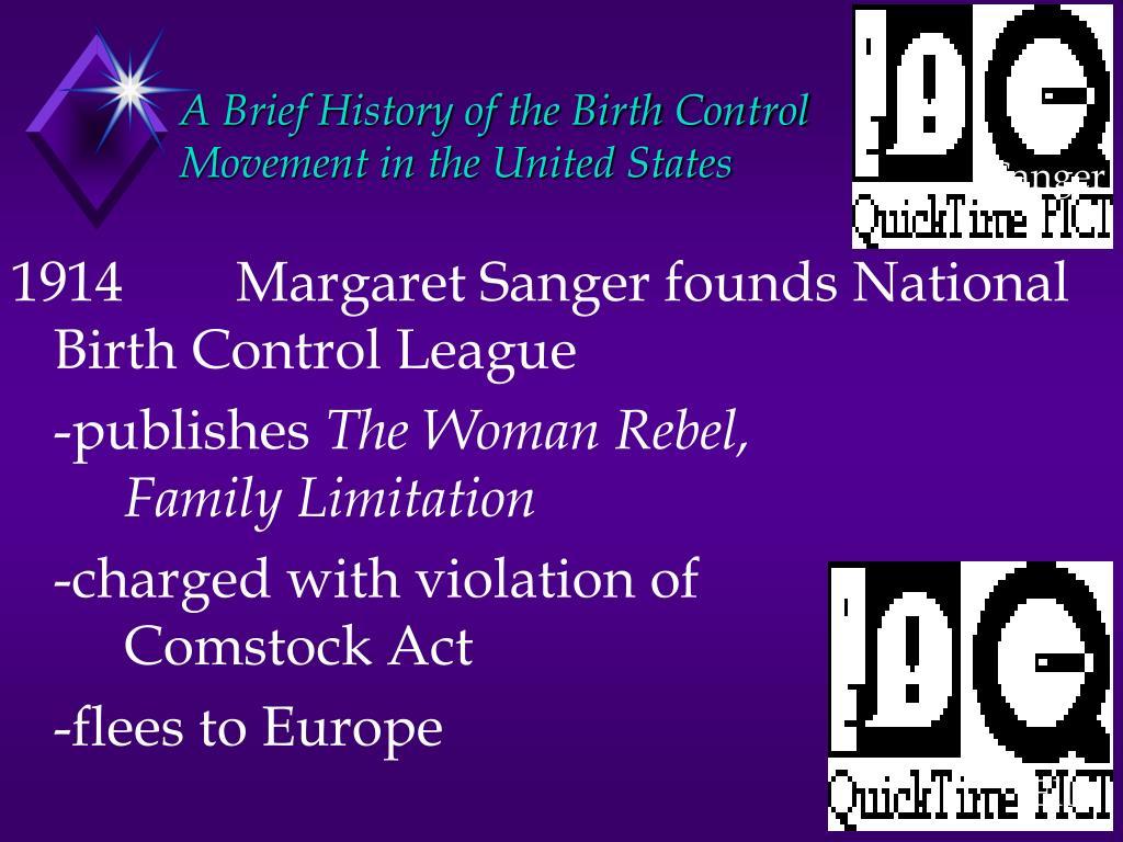 A Brief History of the Birth Control