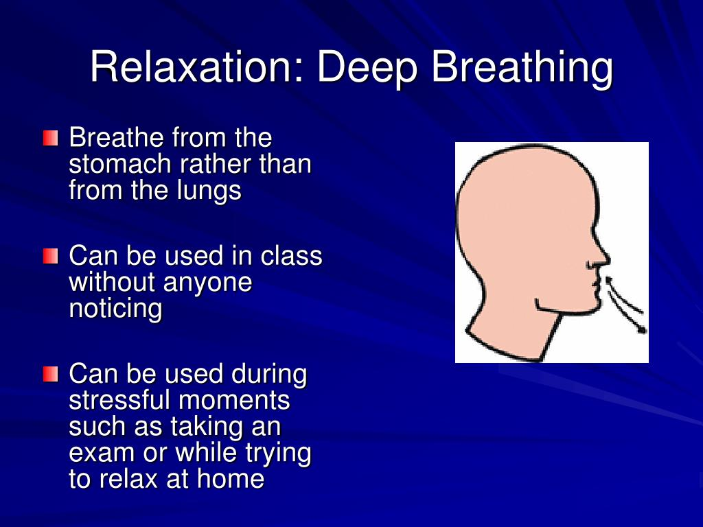 Relaxation: Deep Breathing