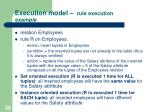 execution model rule execution example