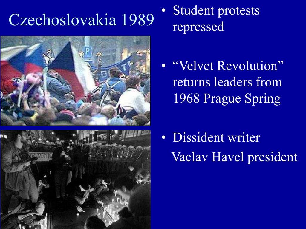 Czechoslovakia 1989